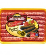 Johnsonville Sausages – Breakfast Sausages – Maple Syrup